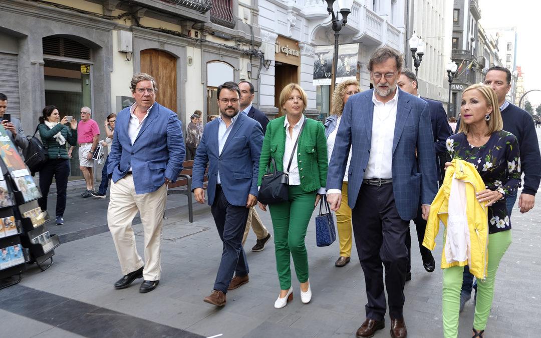 """Gabriel Mato asegura que """"votar a CC para el Parlamento Europeo es dar el escaño al PNV"""""""