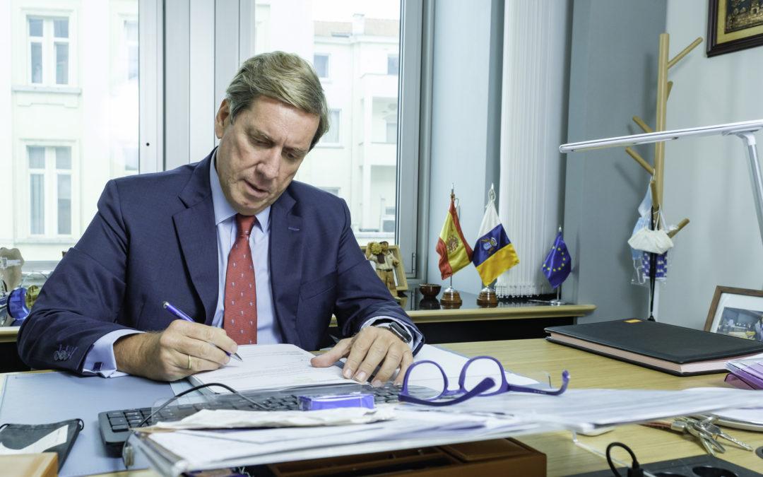 Gabriel Mato pide que la UE vincule su política comercial con las estrategias de defensa e industria para ser una potencia geopolítica